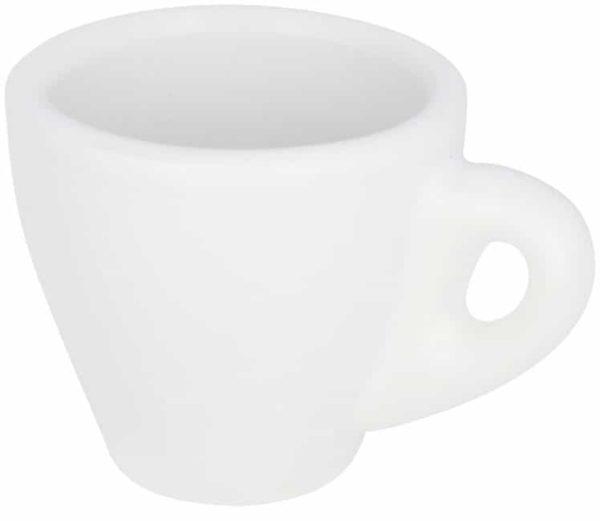 Perk biely espresso hrnček