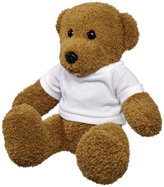 Veľký plyšový medveď v tričku