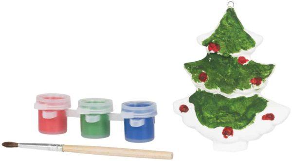 Namaľujte vianočný stromček