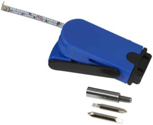 Vysunovací skrutkovač a meracie pásmo