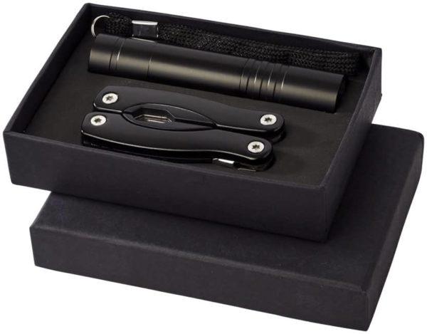 Multifunkčný nôž a baterka Scout