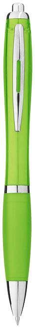 Farebné guľôčkové pero Nash s farebným úchopom