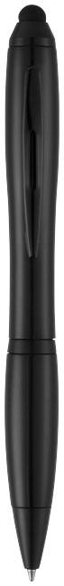 Guľôčkové pero a stylus Nash s farebným gripom