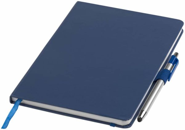Zápisník A5 Crown a stylus s guľôčkovým perom