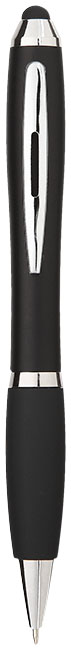 Guľôčkové pero a stylus Nash s čiernym úchopom