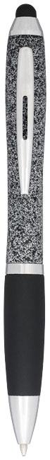 Guličkové pero a stylus Nash so zrnitým designom