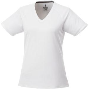 Amery dámské cool fit v-neck tričko s krátkým rukávem
