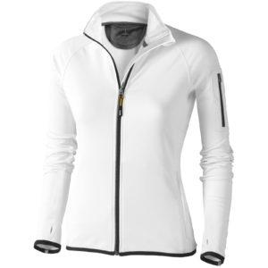 Dámská bunda Mani z materiálu power fleece se zipem v celé délce